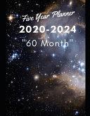 5 Year Planner 2020 2024 60 Month