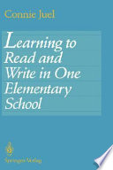 Learning to Read and Write in One Elementary School Book