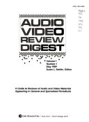 Audio Video Review Digest Book