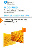 Chemistry Modified Mastering Chemistry With Pearson Etext Access Code Book PDF