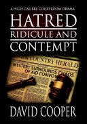 Hatred, Ridicule and Contempt