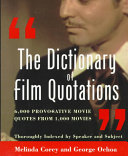 The Dictionary of Film Quotations