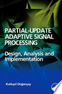 Partial Update Adaptive Signal Processing Book PDF
