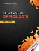 Shelly Cashman Microsoft® Office 365 and Office 2016
