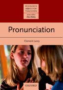 Pronunciation - Resource Books for Teachers