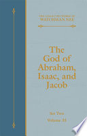 The God of Abraham  Isaac  and Jacob