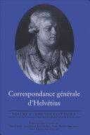 Pdf Correspondance générale d'Helvétius, Volume V Telecharger
