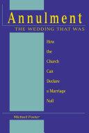 Annulment, the Wedding that was Pdf/ePub eBook