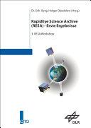 RapidEye Science Archive - erste Ergebnisse