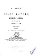 Calendar of State Papers  Domestic Series  of the Reigns of Edward VI  Mary  Elizabeth  1547 1580  Elizabeth 1595 1597 Book