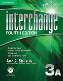 Interchange Level 3 Full Contact A with Self-study DVD-ROM