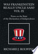 Was Frankenstein Really Uncle Sam  Vol Ix