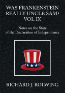 Was Frankenstein Really Uncle Sam? Vol Ix Pdf/ePub eBook