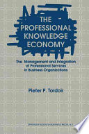 The Professional Knowledge Economy