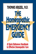 Homeopathic Emergency Guide