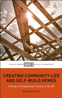Creating Community Led and Self Build Homes