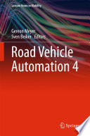 Road Vehicle Automation 4
