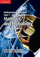 Books - Mathematics Higher Level For The Ib Diploma: Option Topic 7: Statistics And Probability | ISBN 9781107682269