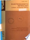 Electromagnetic Metrology