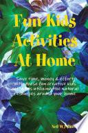 Fun Kids Activities At Home Book