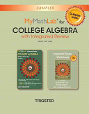 Mymathlab College Algebra with Integrated Review Worksheets Plus New Mymathlab with Pearson Etext  Access Card Package