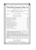 The Phi Gamma Delta