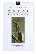 Journal of Moral Theology, Volume 6, Special Issue 2 [Pdf/ePub] eBook