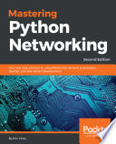 Mastering Python Networking Book PDF