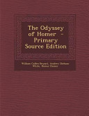 The Odyssey of Homer   Primary Source Edition