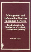 Management and Information Systems in Human Services