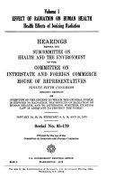 Effect of Radiation on Human Health