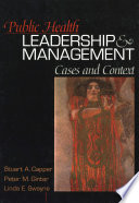 Public Health Leadership And Management Book PDF