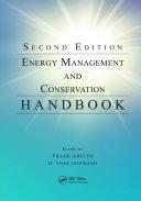 Energy Management and Conservation Handbook