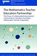 The Mathematics Teacher Education Partnership