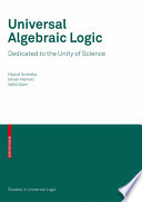 Universal Algebraic Logic