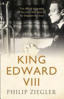 King Edward VIII [Pdf/ePub] eBook