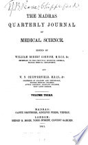 The Madras Quarterly Journal Of Medical Science
