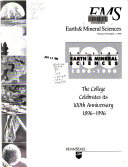 Earth and Mineral Sciences