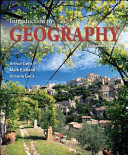 Cover of Introduction to Geography