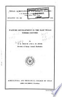 Bulletin - Texas Agricultural Experiment Station