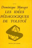 Les Idées Pédagogiques de Tolstoï