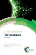 Photocatalysis: Applications - Seite x