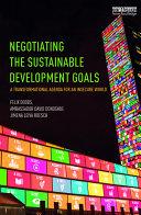 Negotiating the Sustainable Development Goals