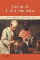 Colonial Latin America