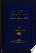 Glasgow and west of Scotland educational guide