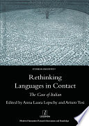 Rethinking Languages In Contact PDF