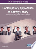 Contemporary Approaches to Activity Theory  Interdisciplinary Perspectives on Human Behavior