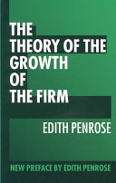 Pdf The Theory of the Growth of the Firm