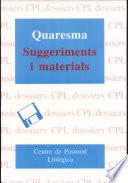 Quaresma  : suggeriments i materials