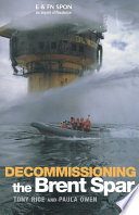 Decommissioning the Brent Spar Book